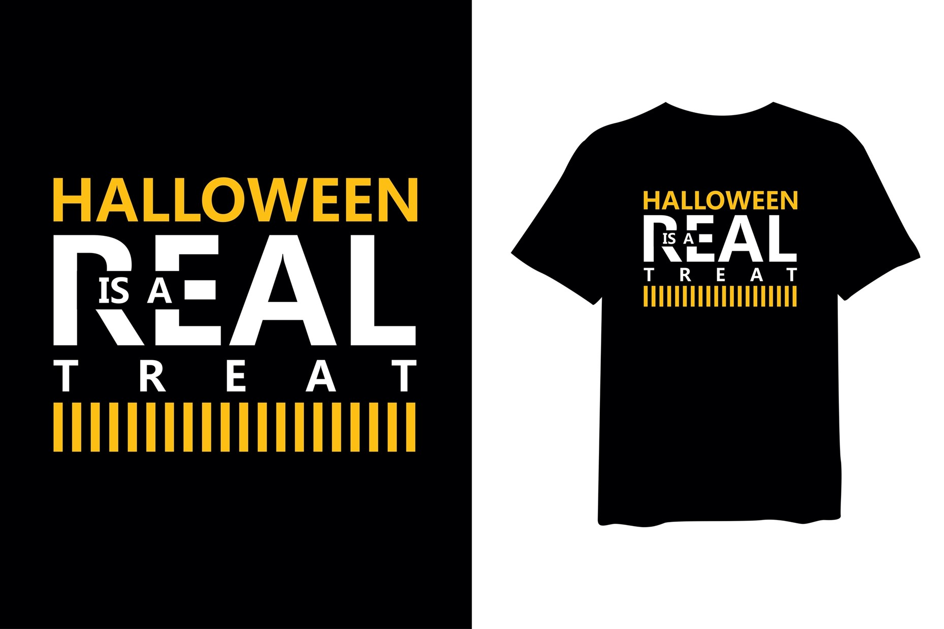 personalised t-shirt printing with Halloween